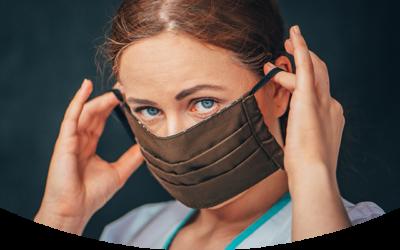 Abmahnung für selbstgenähte Mundmasken